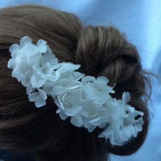 arranjo-de-cabelo-de-hortensias-brancas-flores-preservadaswhitebranco