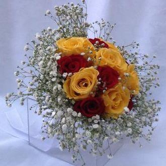 bouquet-amarelo-e-vermelho-de-flores-naturais-preservadas-buque-cor-unica