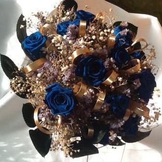bouquet-buque-de-noiva-flores-preservadas-azul-e-douradoblue