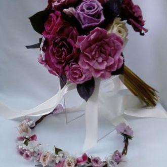 bouquet-multicolorido-tons-rosa-de-flores-naturais-preservadas-buque-cor-unica