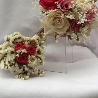 bouquet-rosinhas-pink-preservadas-e-estatices-buque-cor-unica