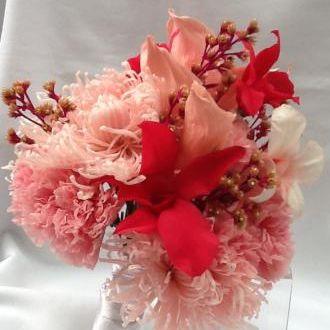 bouquet-tons-de-cor-de-rosa-buque-cor-unica