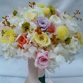 bouquetcampestredeflorzinhaspreservadasgoldenyellow