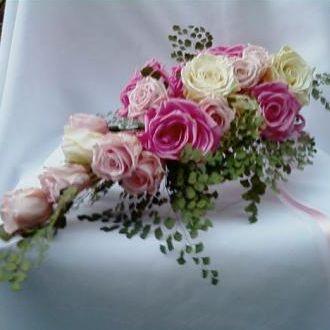 bouquetcascatarosaseavencaspreservadaslightpink