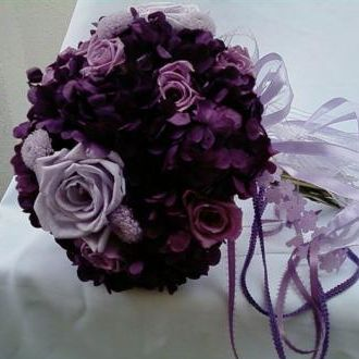 bouquetcristianemeilerbaptistapurple