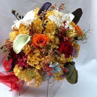 buque-bouquet-multicolorido-de-flores-naturais-preservadas-cor-unica