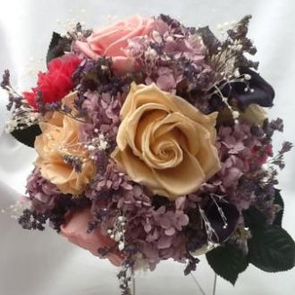 buque-lilas-rosa-e-pessego-de-flores-naturais-preservadas-bouquet-cor-unica