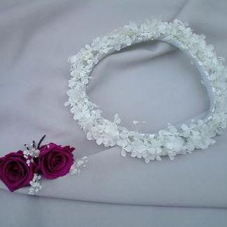guirlanda-e-rosas-para-cabelo-naturais-preservadas-cor-unica
