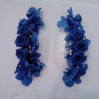 pentes-de-hortensia-azul-natural-preservadablue
