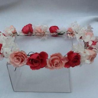 tiara-guirlanda-pink-e-rosa-claro-de-flores-naturais-preservadasgypsy-pink