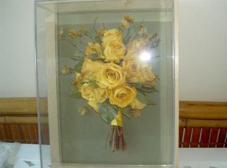 bouquetdesidratadonamolduragoldenyellow