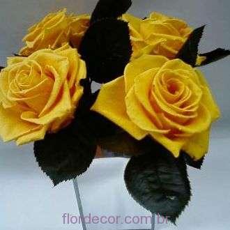 arranjo-rosas-amarelas-naturais-preservadas-aramadas+golden-yellow