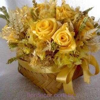 arranjo+golden+yellow