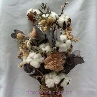 bouquet-flor-de-algodao-flores-desidratadas-e-cravos-preservados-buque+whitebranco