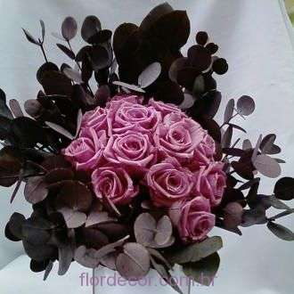 bouquet-rose-antigo-claro-e-folhagens-naturais-preservadas-buque+cherry-blossom