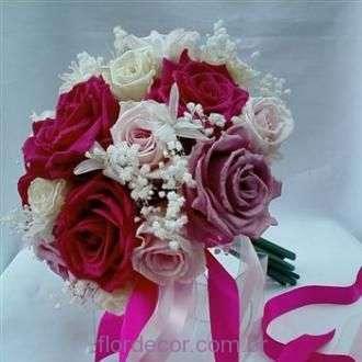 bouquet+de+rosas+pink+e+brancas+nardos+e+mosquitinho+preservado+gypsy+pink
