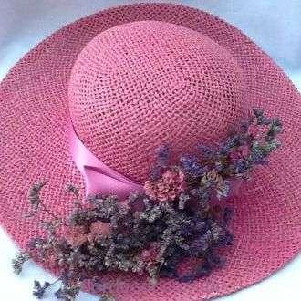 chapeu-rosa-com-flores-desidratadas+-cor-unica