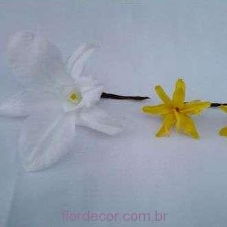 orquidea+dendrobium+e+nardos+preservados+para+cabelo+golden+yellow