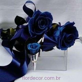 solitarias+rosas+azuis+preservadas+e+lapela+com+broche+blue